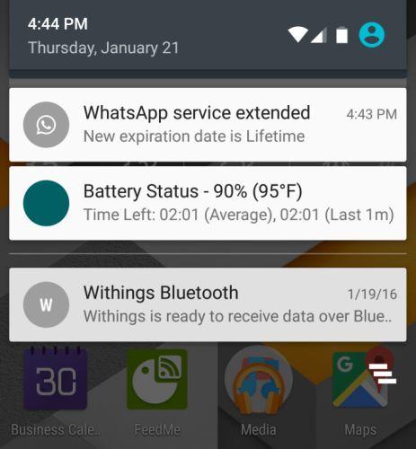 whatsapp lifetime