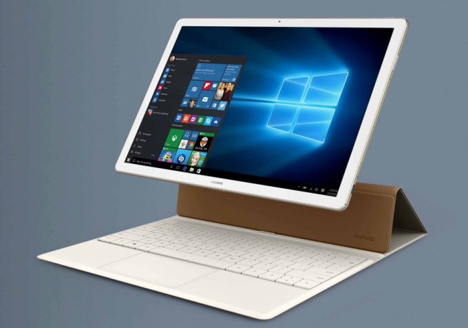 huawei unveils the 699 matebook 2 in 1 windows tablet liliputing. Black Bedroom Furniture Sets. Home Design Ideas