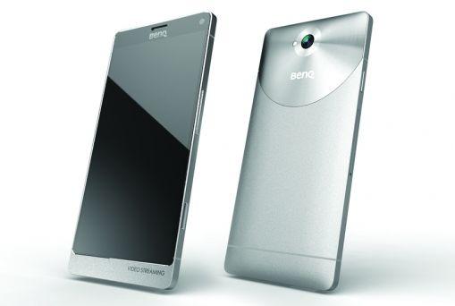 BenQ F55 smartphone packs a 4K display - Liliputing