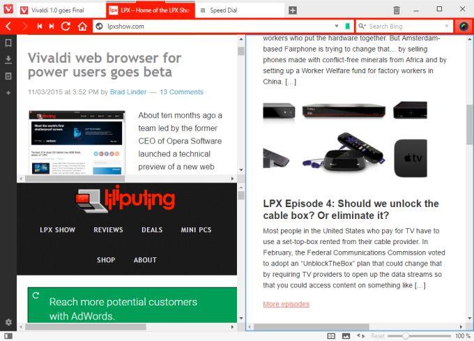 Open Opera Mini Browser