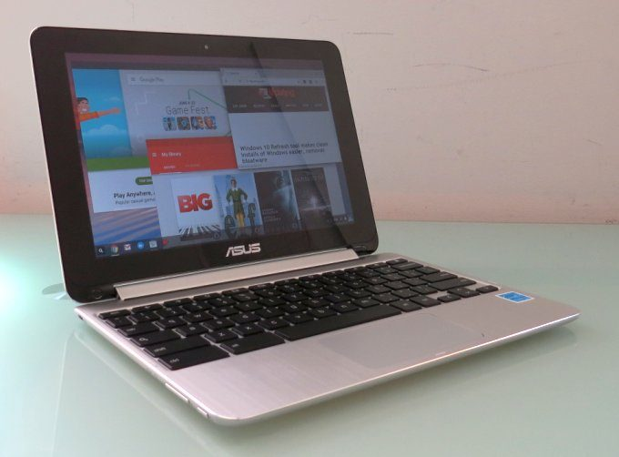 chromebook flip android