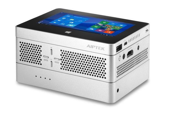 aiptek ibeamblock is a modular mini pc projector and battery liliputing