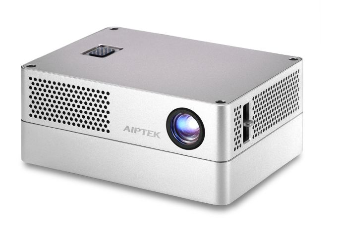 Aiptek iBeamBlock is a modular mini PC, projector, and ...