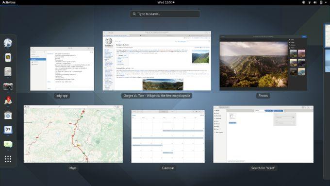 GNOME 3 desktop environment