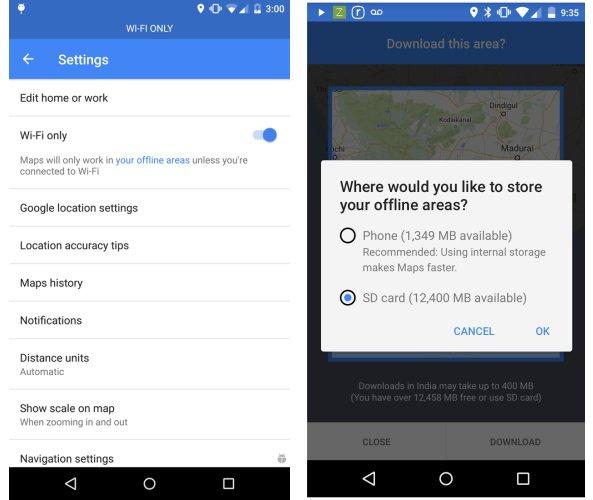 google maps wifi