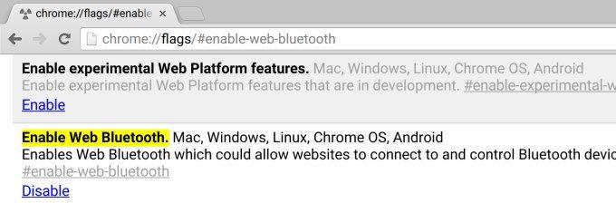 web-bluetooth