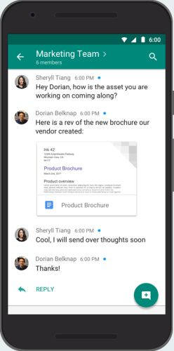 Google retools Hangouts for business with Hangouts Chat and