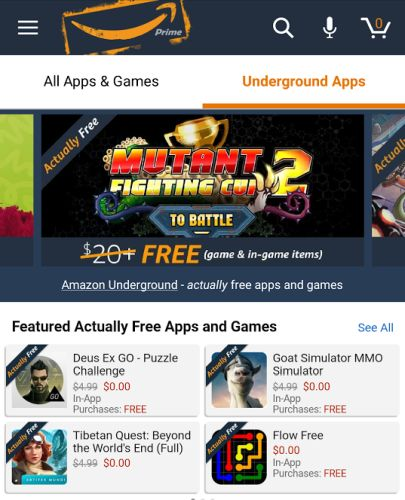 amazon free download games for android