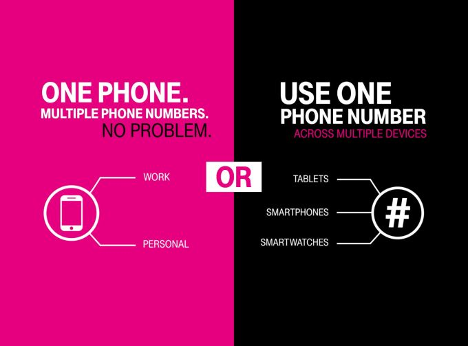 T-Mobile DIGITS: Dial one number to ring multiple devices ...  One