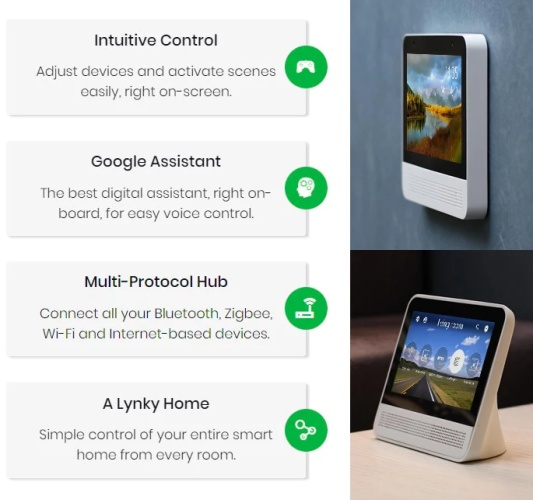 google assistant display