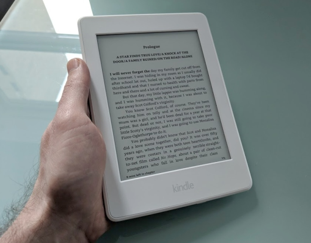 You don't need a Kindle device to read a Kindle ebook