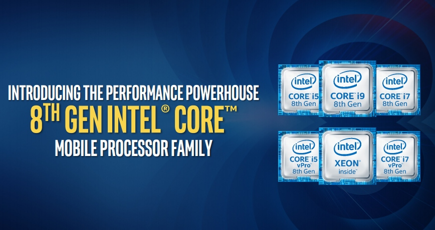 Intel brings hexa-core chips to laptops with Coffee Lake-H - Liliputing