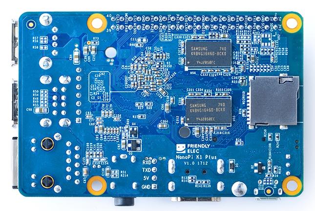 $35 NanoPi K1 Plus is a Raspberry Pi-like computer with twice the