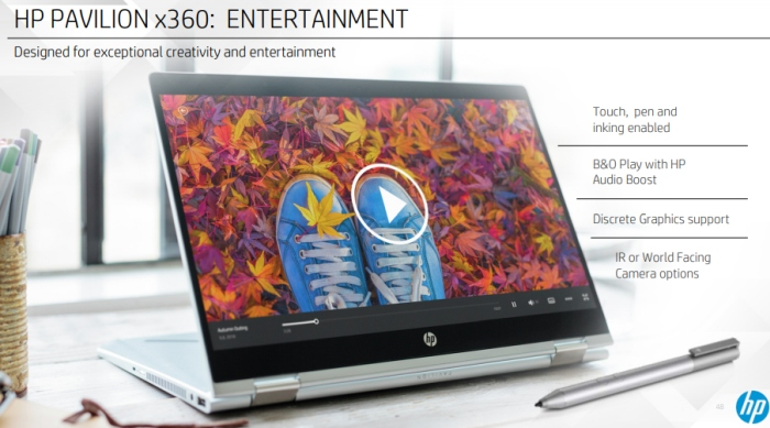 HP launches new Pavilion x360 laptops with slimmer bezels