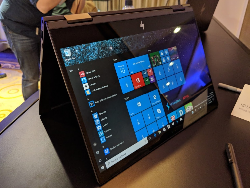 HP Envy x360 13 with AMD Ryzen Mobile coming soon for $760 and up