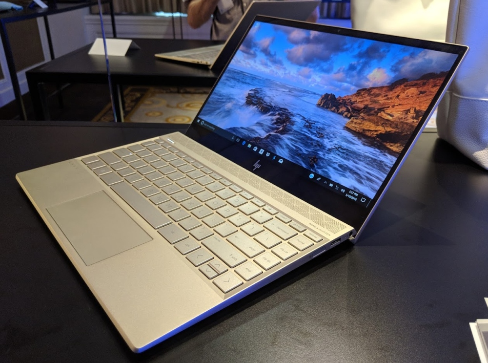 hp envy 13  2018  is a 2 9 pound laptop with kaby lake