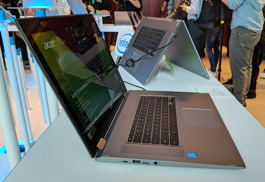 Acer's new Chromebook 15 and Chromebook Spin 15 coming this