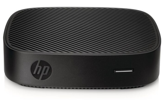 HP t430 Thin Client is basically a small, fanless, low-power