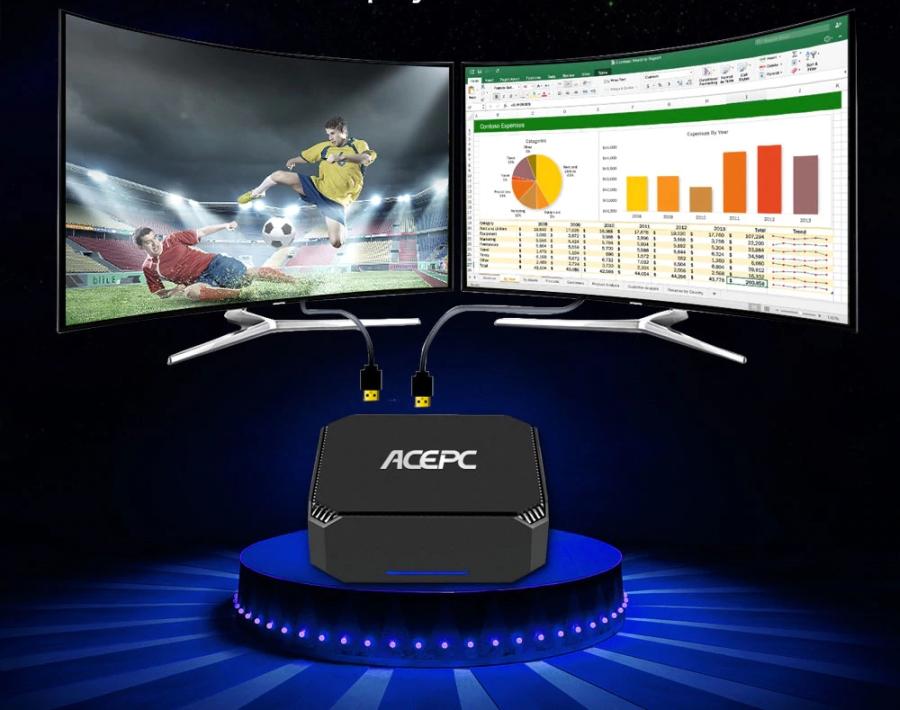 ACEPC launches quad-core Gemini Lake mini PCs for $199