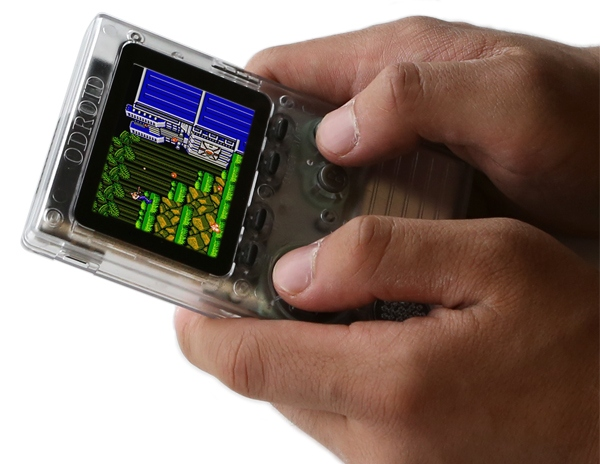 ODROID-GO is a $32 handheld game console (programmable and Arduino