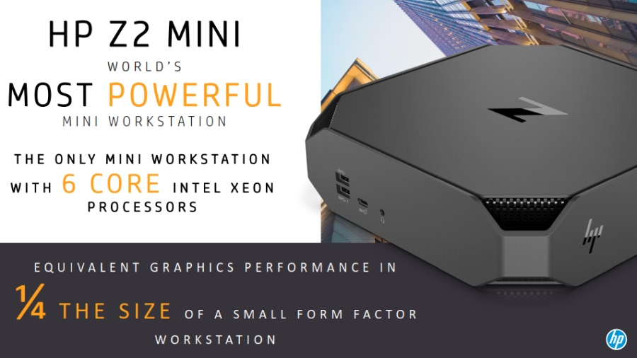 HP updates its Z line of entry-level workstations with Xeon