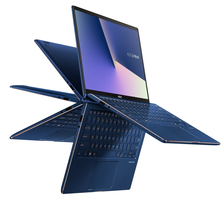 The latest Asus ZenBook Flip convertibles are smaller and
