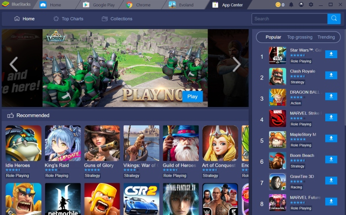 BlueStacks 4 released with promise of speedier Android app