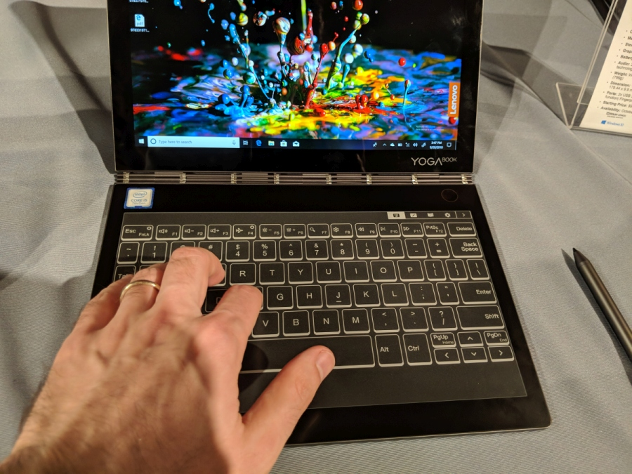 Hands-on: Lenovo Yoga Book C930 dual-screen laptop (LCD and
