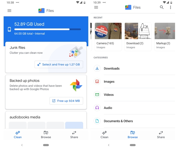 Google finally has an official Files app for Android (sort