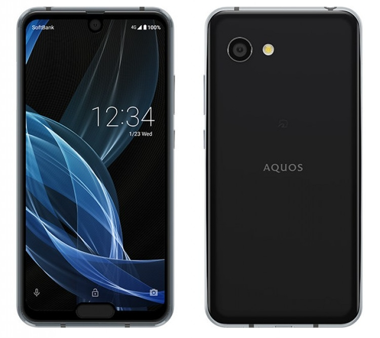 Sharp Aquos R2 compact is the first phone with two notches - Liliputing