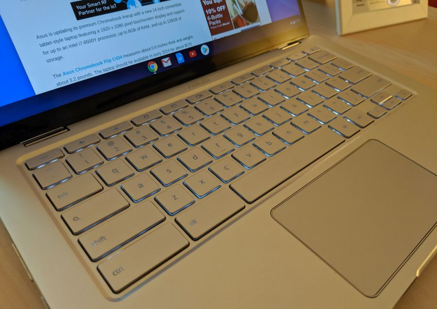 Hands-on with the Asus Chromebook Flip C434 - Liliputing