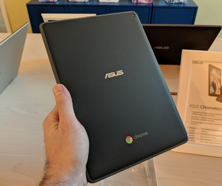 Hands-on with the Asus Chromebook Tablet CT100 - Liliputing