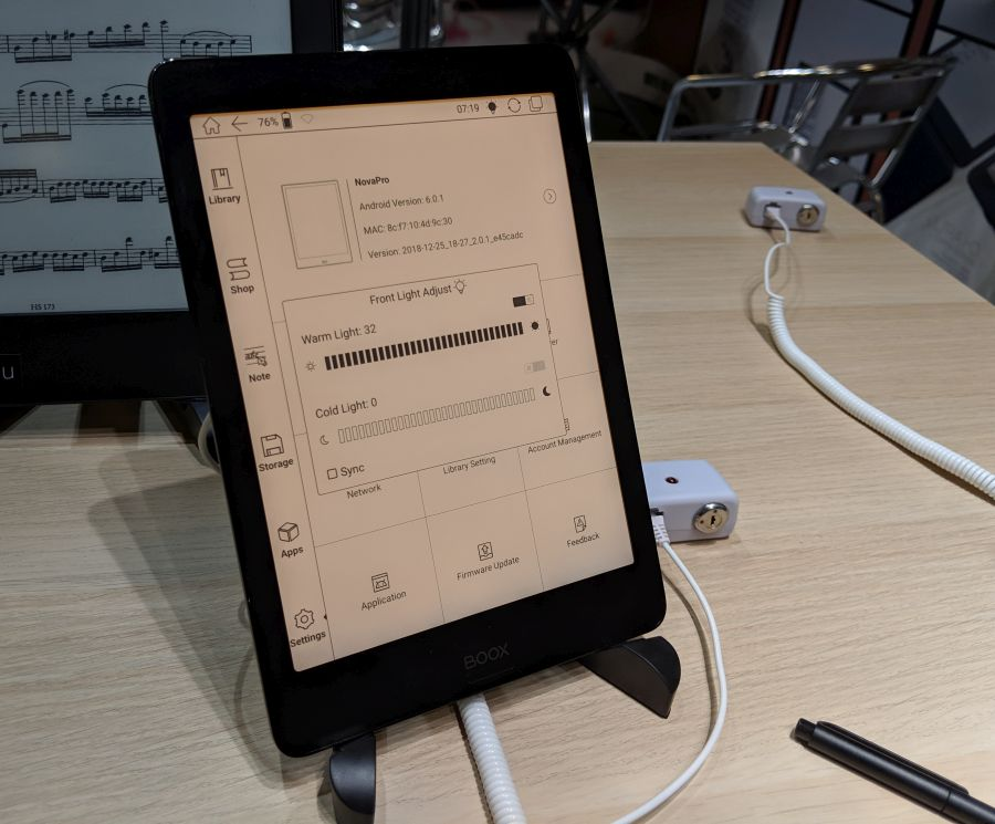 Onyx is launching two new E Ink devices with Wacom pen