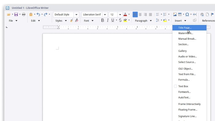 LibreOffice 6 2 introduces customizable toolbar - Liliputing