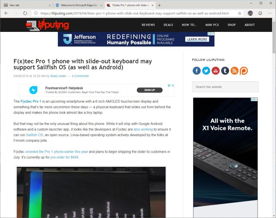 Microsoft launches Edge Insider program (Edge web browser