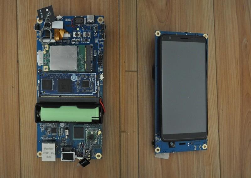 First look at the PinePhone dev kit running KDE Plasma