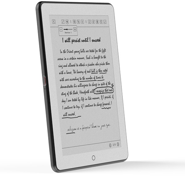 Epad X is a dual-screen tablet (E Ink on one side, color on