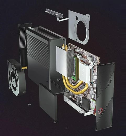Ipason F-Migrate mini PC packs an AMD Ryzen R3 2200GE