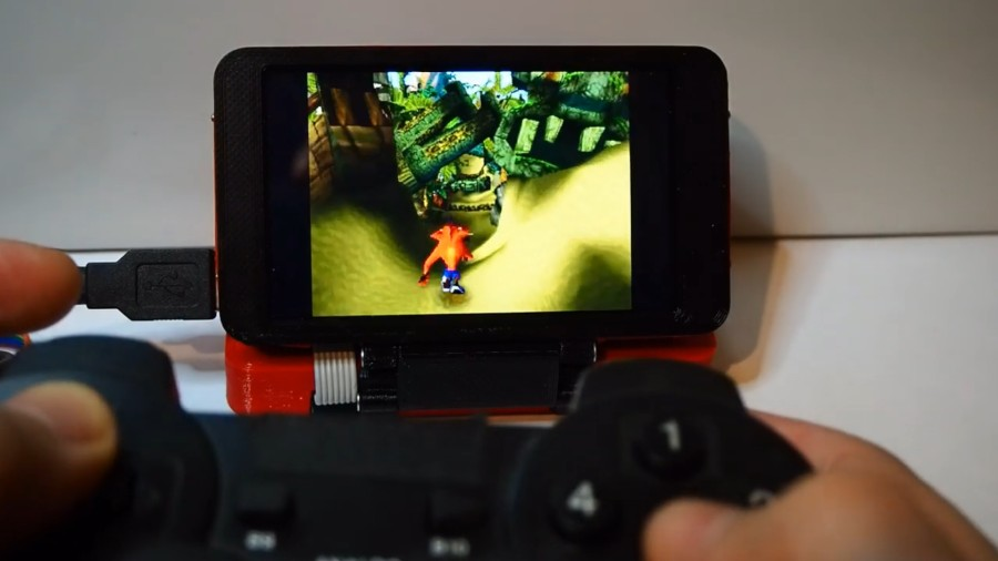 hgTerm converts a Raspberry Pi into a versatile handheld computer