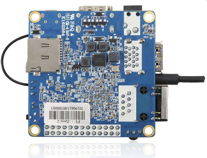 Orange Pi Zero2 mini PC supports Android & Linux, measures