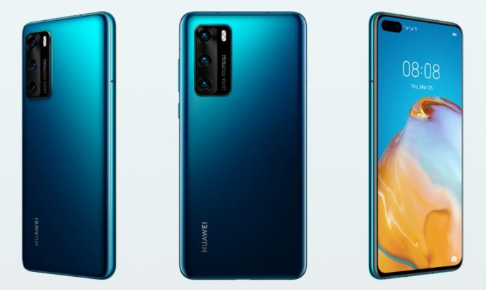 Huawei launches P40 smartphone series with premium cameras (and no Google  Play Store)
