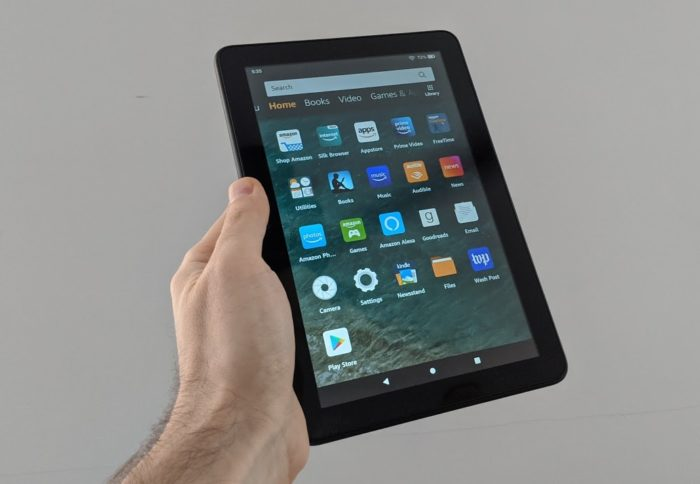 Can You Play Fortnite On Fire Tablets How To Install Google Play On The Amazon Fire Hd 8 2020 Liliputing
