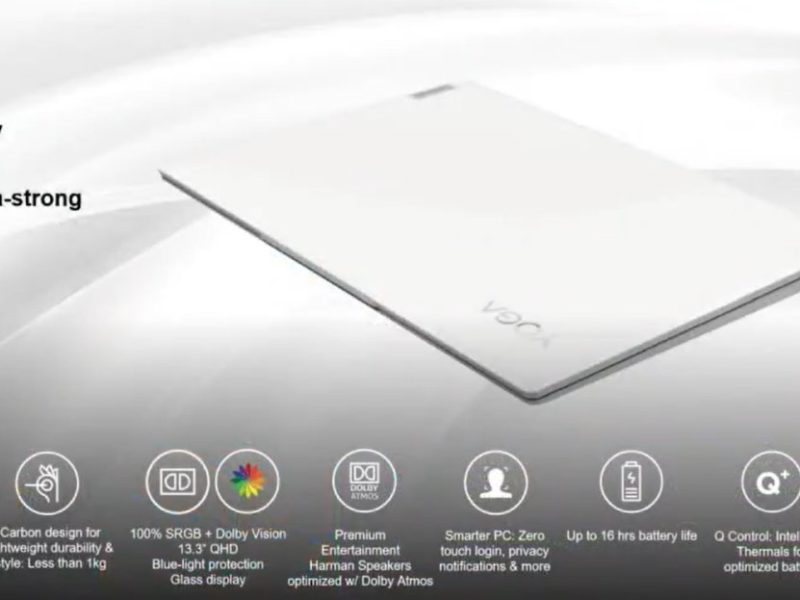 Lenovo Yoga 13s Carbon