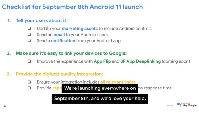 Android 11 launch date