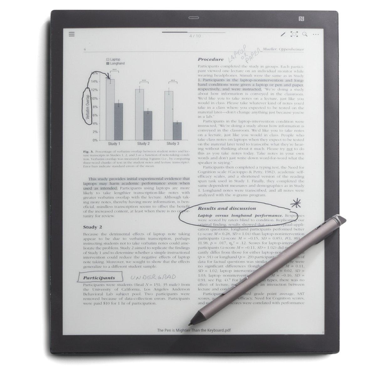 Digital Paper Tablet