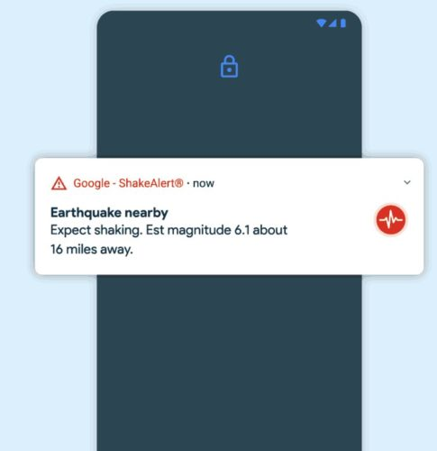 Android Earthquake Alerts System