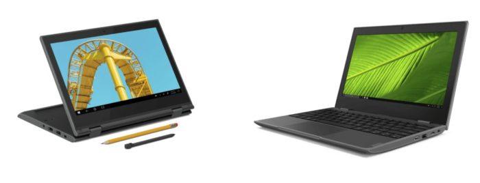Lenovo 100e 2nd-gen and Lenovo 300e 2nd-gen