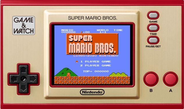 Super Mario Bros Game & Watch