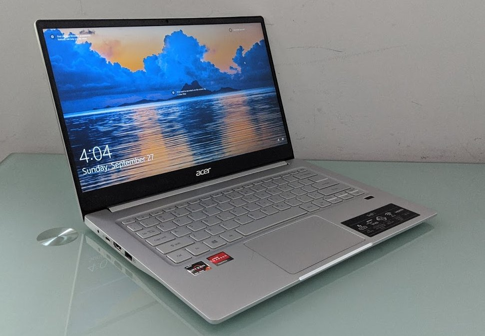 Review Acer Swift 3 With Ryzen 7 4700u Is A 650 Laptop That Punches Above Its Class Liliputing