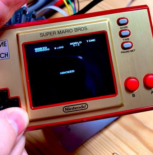 Nintendo Game & Watch: Super Mario Bros hacked on very first day